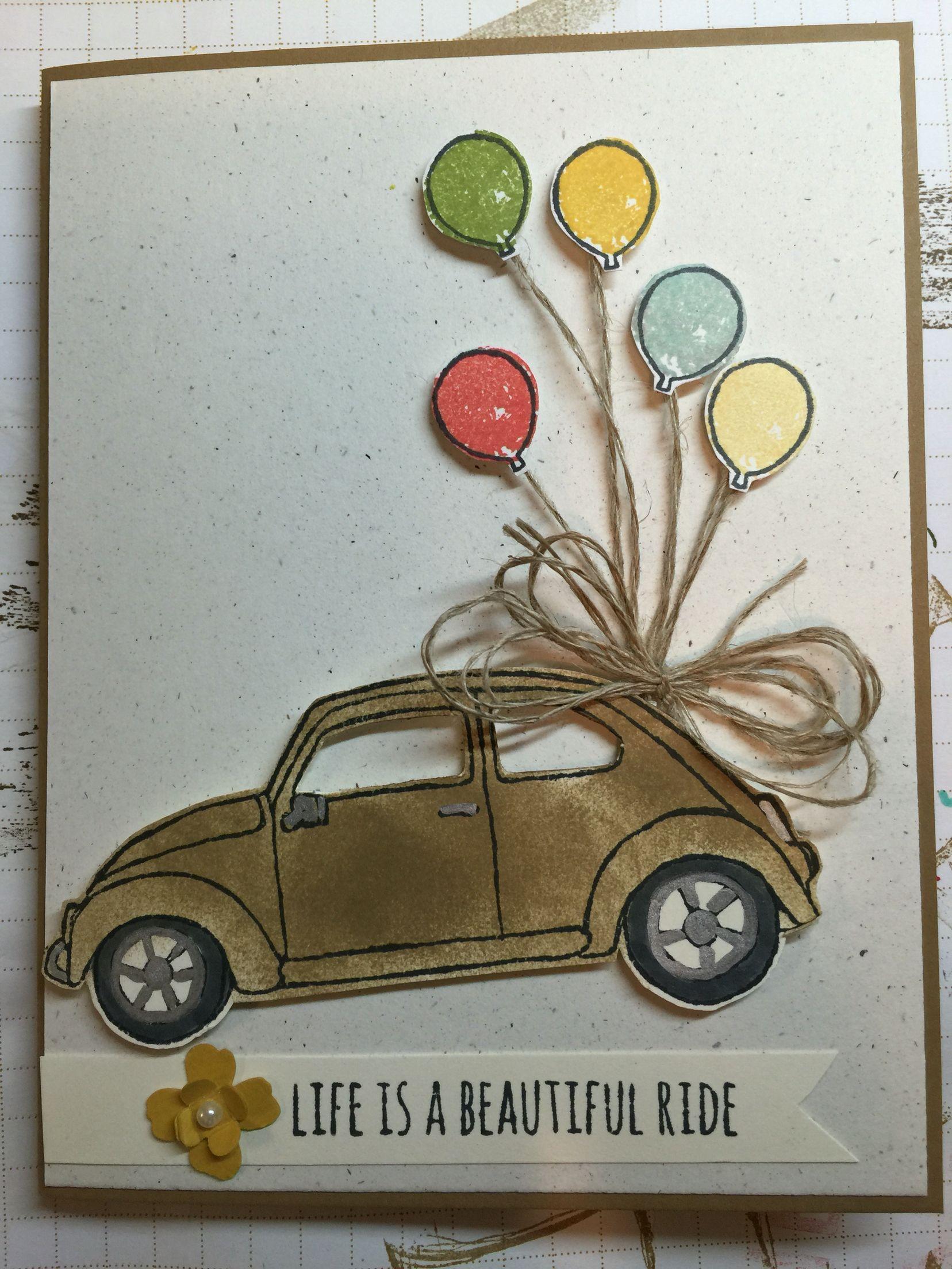 Stampin\' Up! Beautiful Ride | Beautiful Ride SU | Pinterest | Karten ...