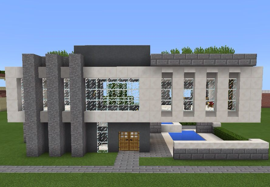 Minecraft modern house Design from keralis on youtube