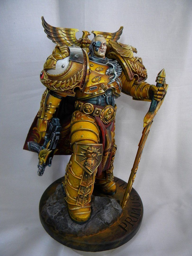 Rogal dorn primarch of the legion imperial fists - Imperial fists 40k ...