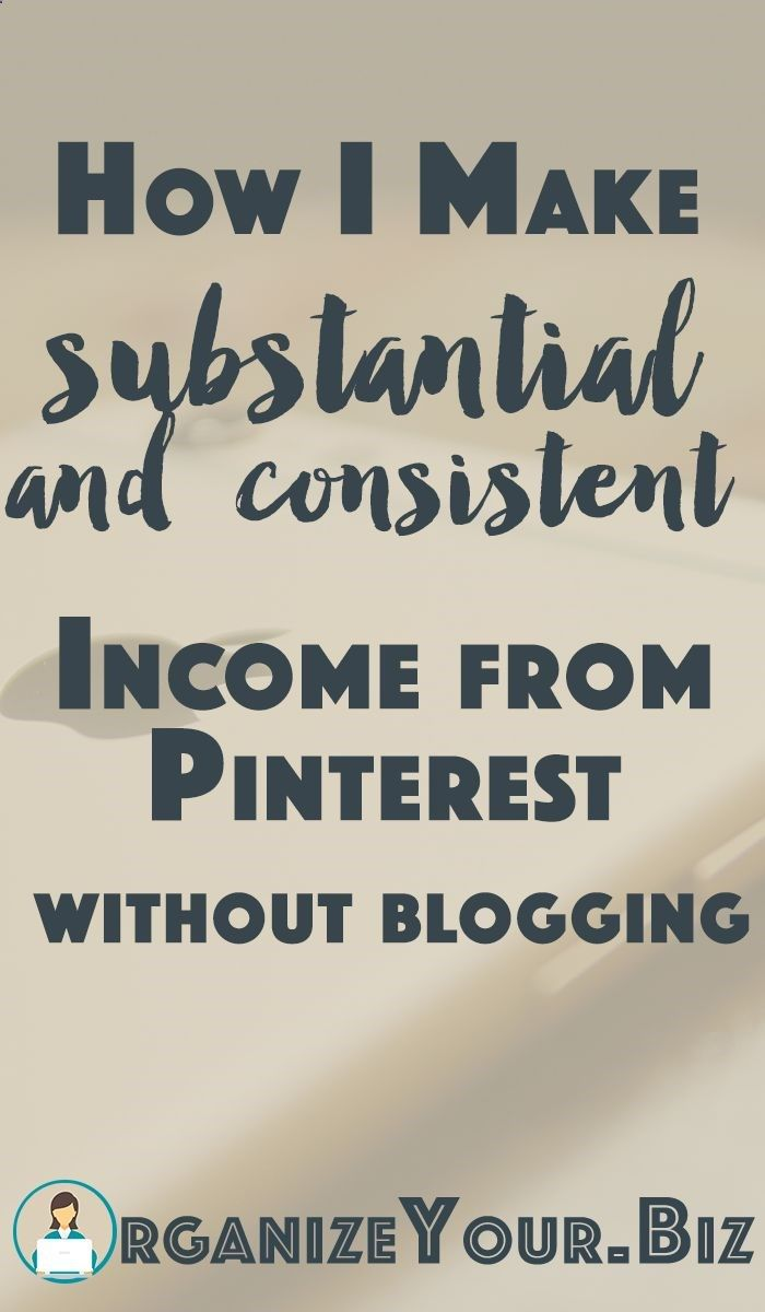 How to work from home on Pinterest and make REAL money, without a ...