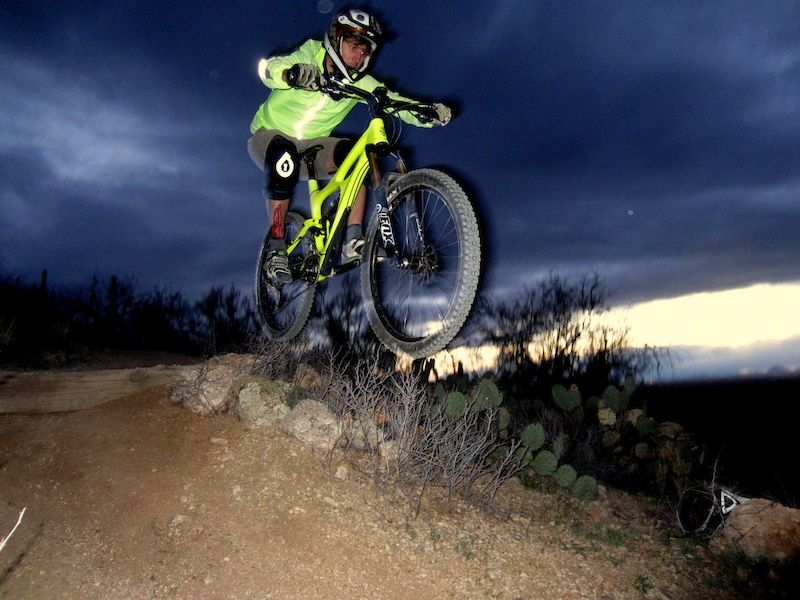 """Pinkbike - """"My first ride on the mojo on my favorite trail."""""""