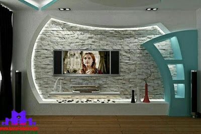 Latest Gypsum Board Tv Wall Design For Living Room Niche Design Tv Wall Design Room Door Design