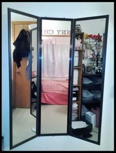 DIY 3 Way Mirror