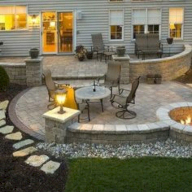 20++ Backyard stone patio design ideas info