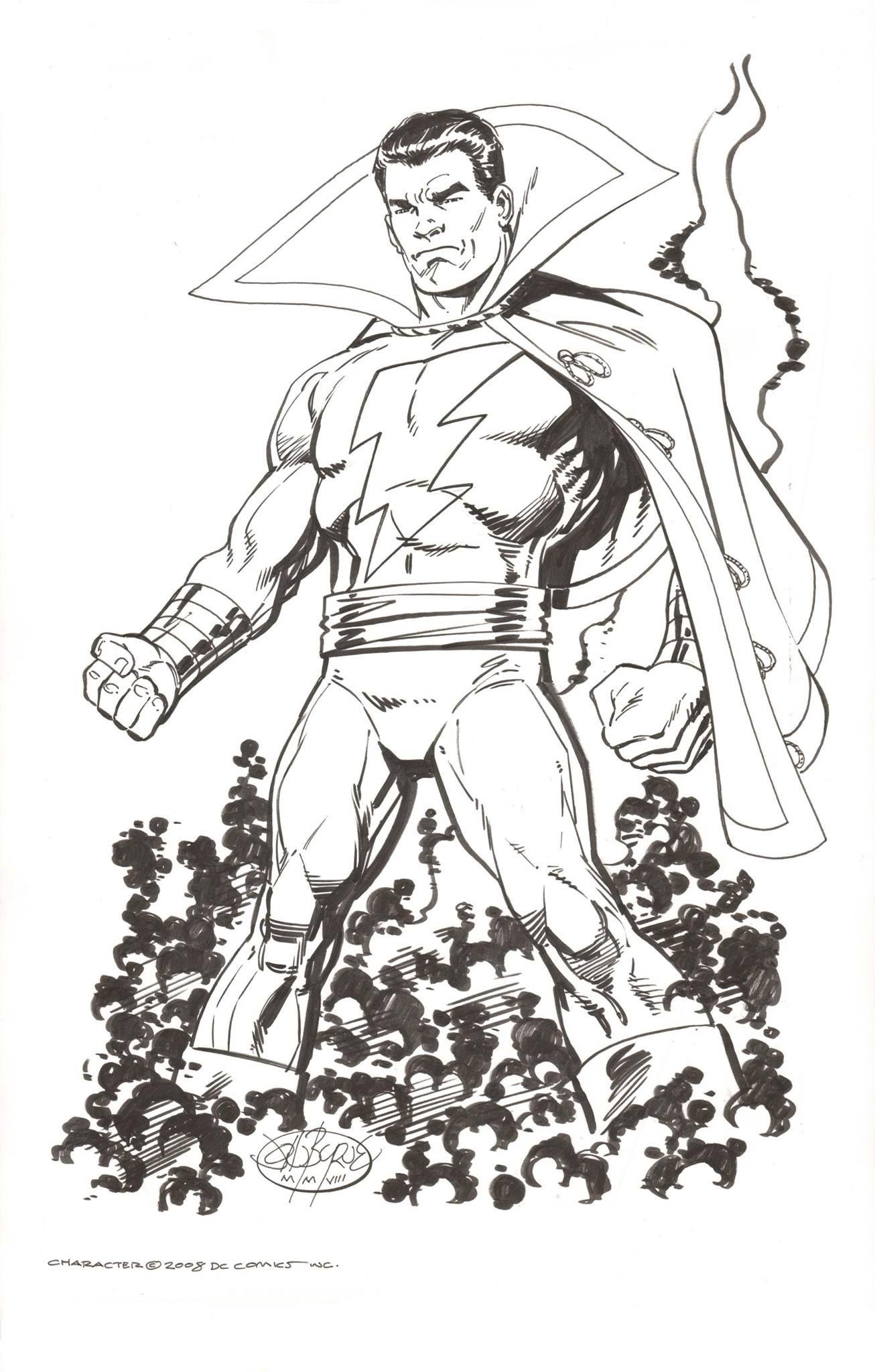 Shazam By John Byrne Captain Marvel Shazam John Byrne Marvel Coloring