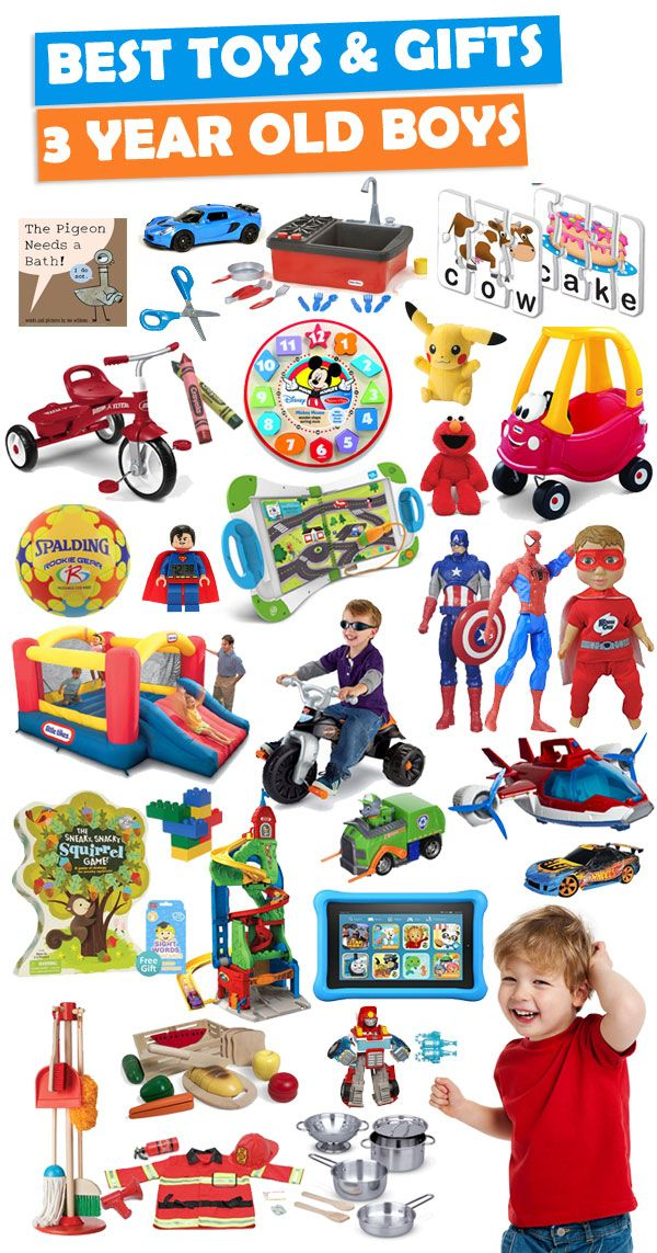Best Gifts And Toys For 3 Year Old Boys | Boys, Gift and Toy