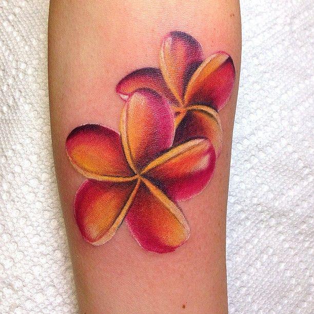 Adorable Red Plumeria Tattoo Tattoomagz Com Tattoo Designs Ink Works Gallery Tattoo Designs Hawaiian Tattoo Plumeria Tattoo Hawaiian Flower Tattoos