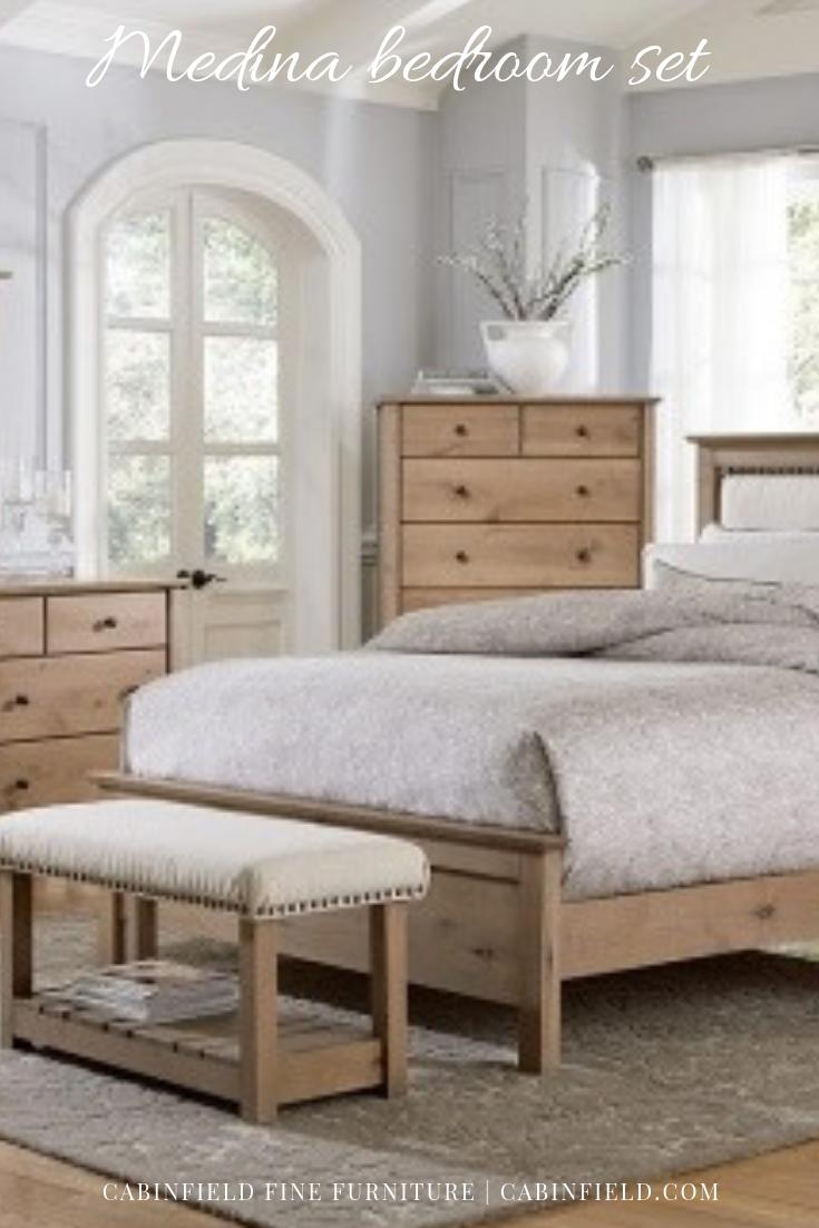 Contemporary solid wood bedroom furnishings handmade and custom ...