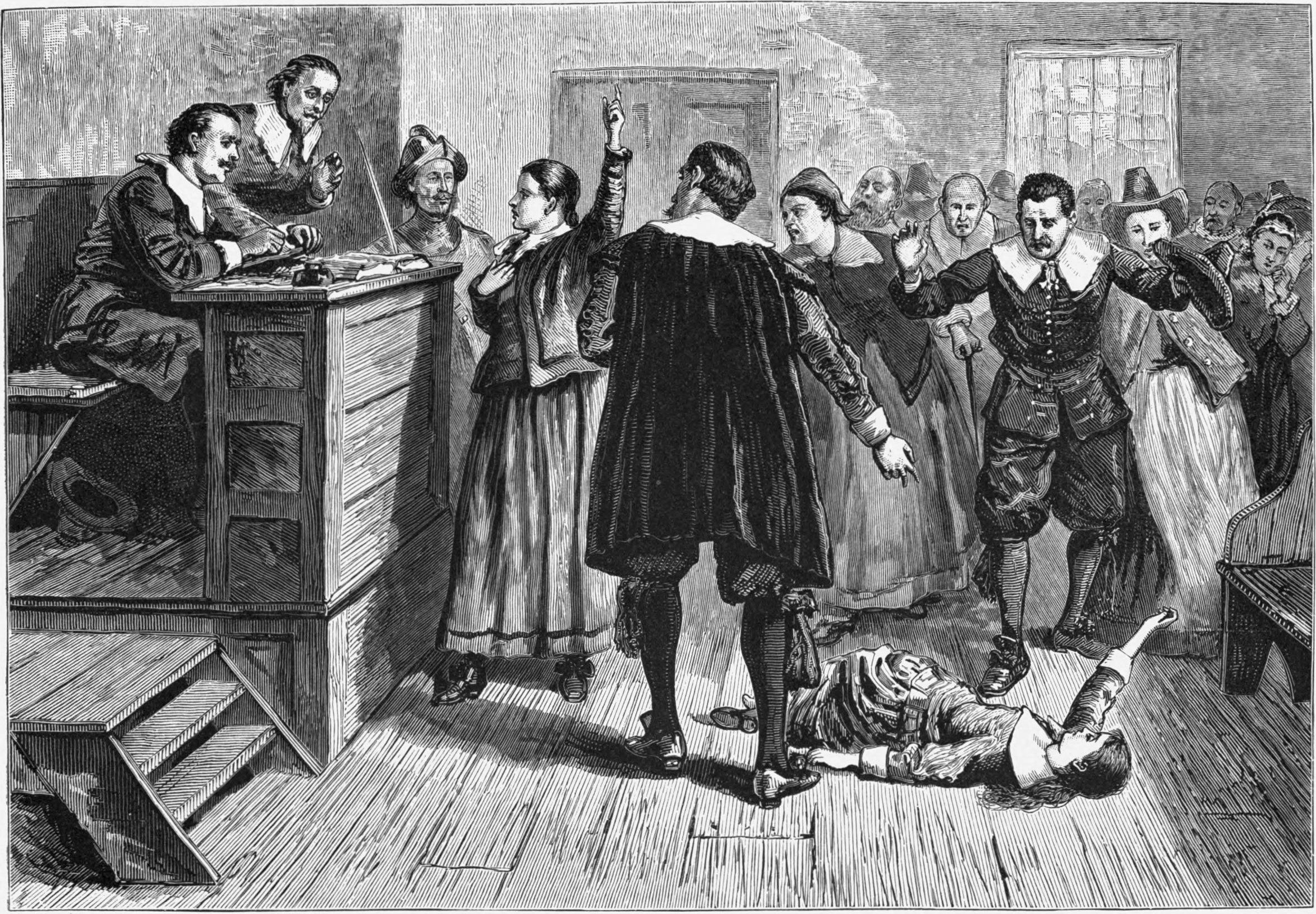 Salem witch trials research paper