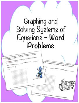 Graphing Systems of Equations Word Problems | Linear Systems
