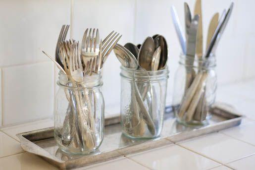 Great idea for silverware.