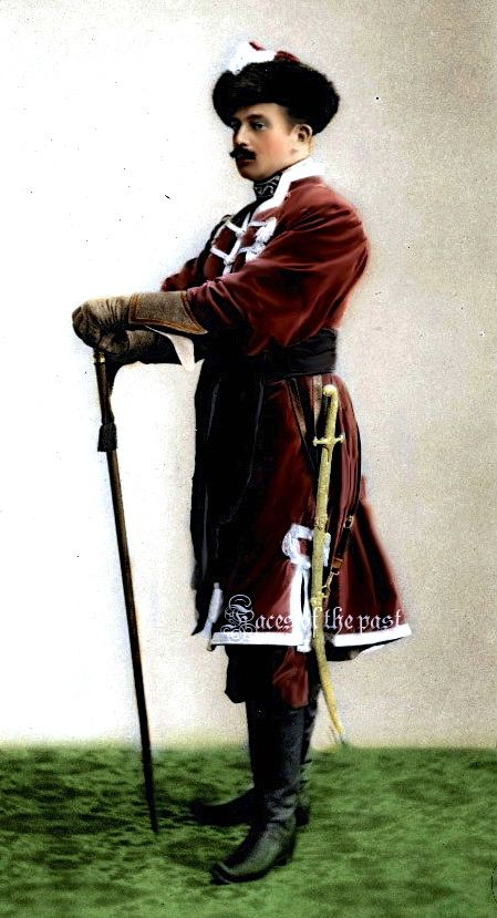 Grand Duke Boris Vladimirovich at the Winter Palace ...
