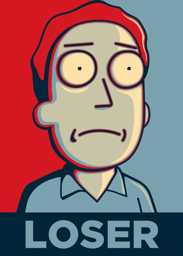 Rick And Morty Character Displate Posters