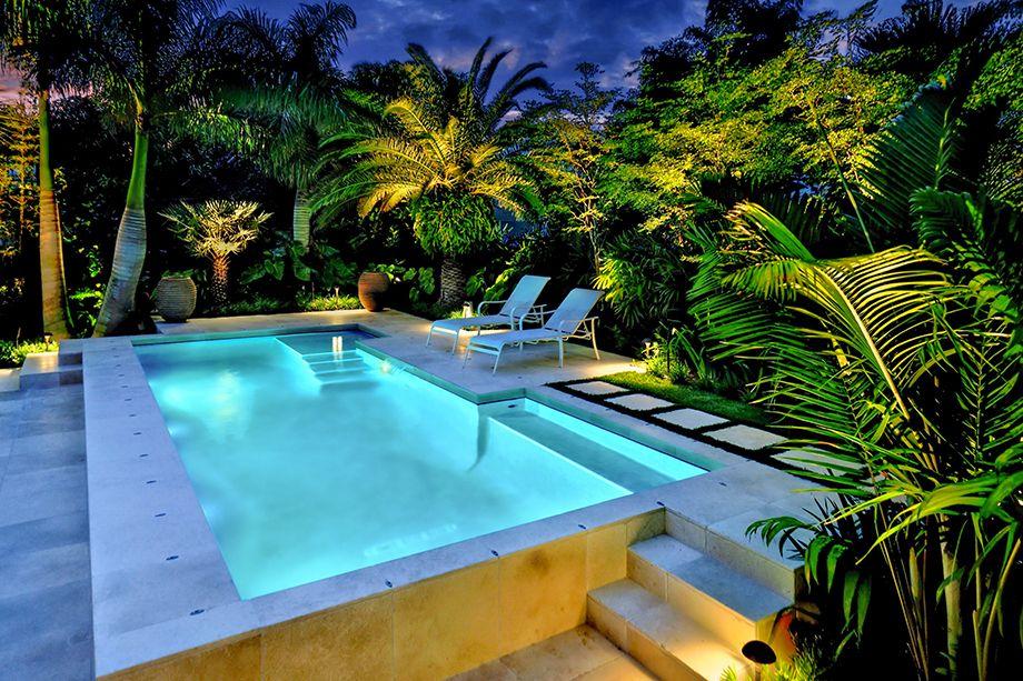 tropical outdoor lighting. Landscape Lighting, Outdoor Living, Low Voltage Tropical Garden, Lighting Design, \u0026 Irrigation H