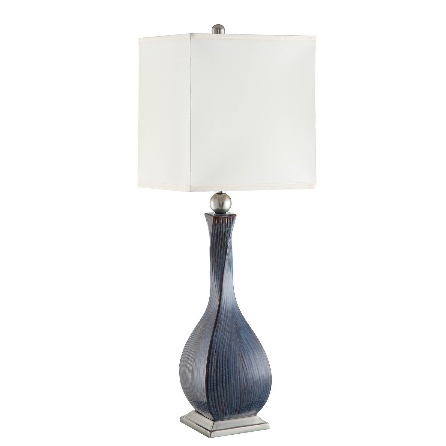 Allegri Blue And Brown 36 Inch Table Lamp Table Lamp Ceramic