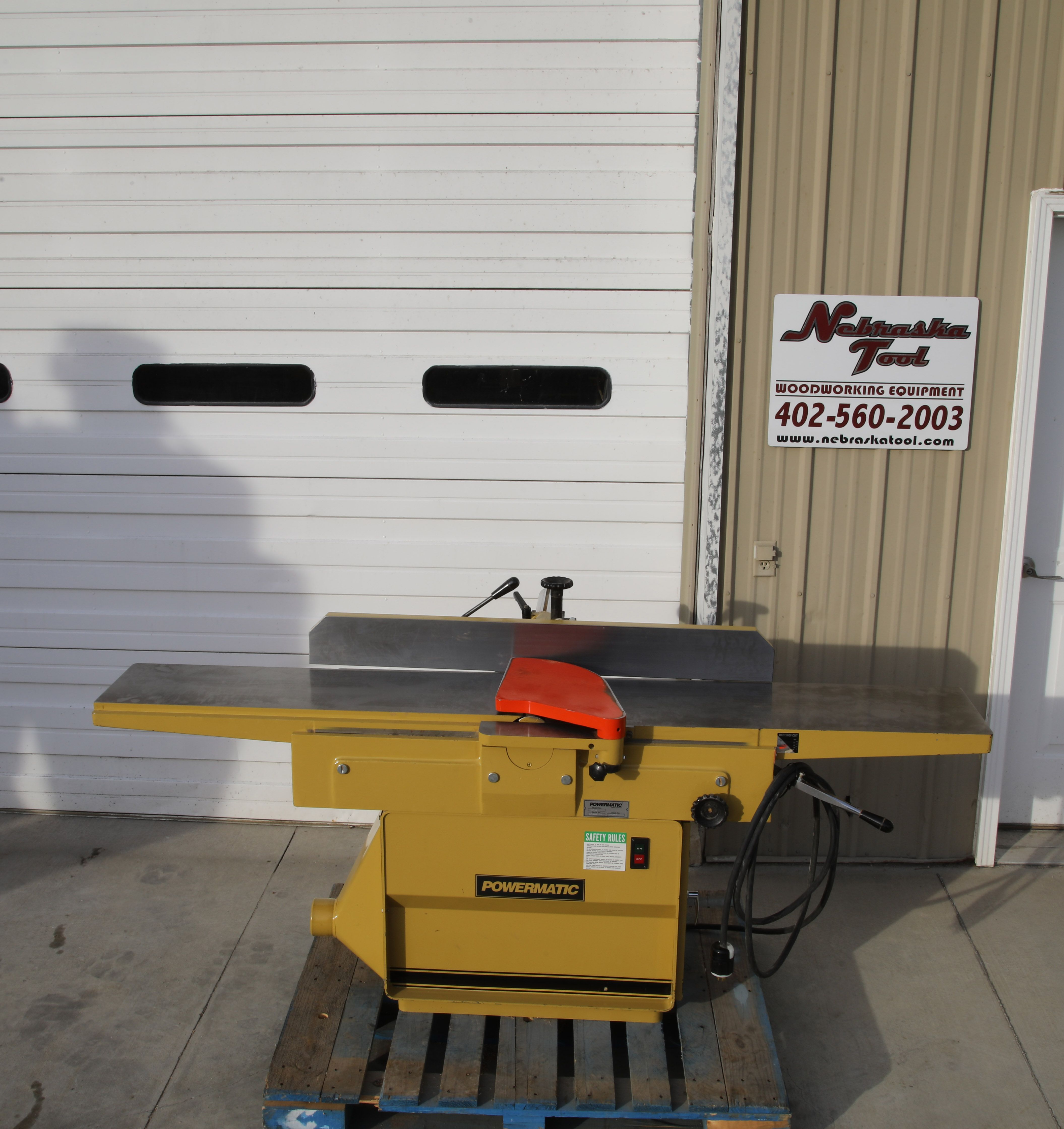 """Powermatic 1285,12"""" jointer. www.nebraskatool.com (With images) Woodworking tools for sale"""