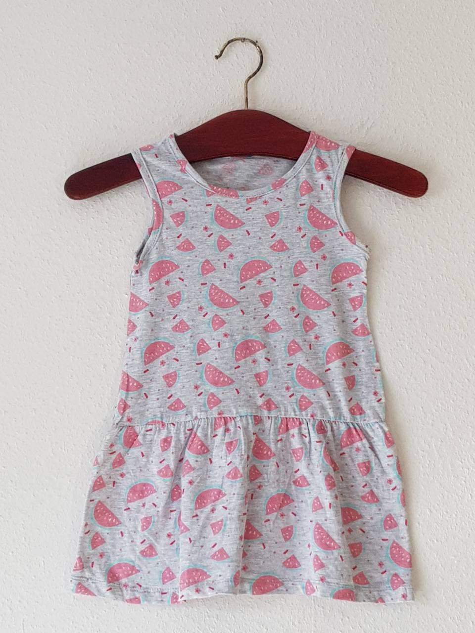 Kids Infant H &9; M Mädchen Kleid fruits Sleeveless Jersey ...