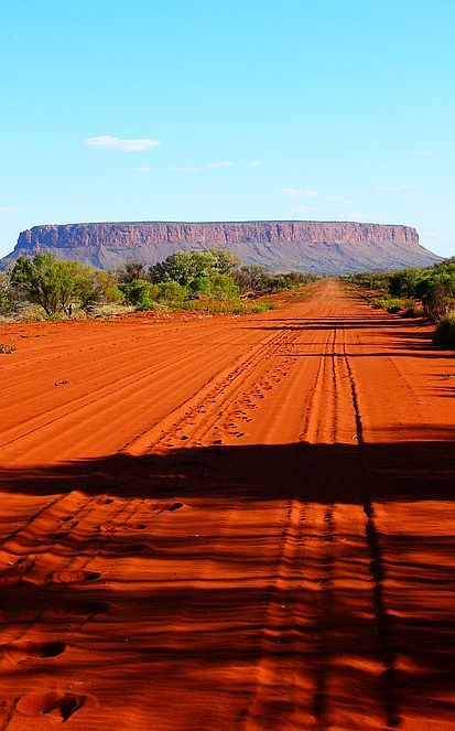 Mount Conner, Australia. Had a camel ride near here.