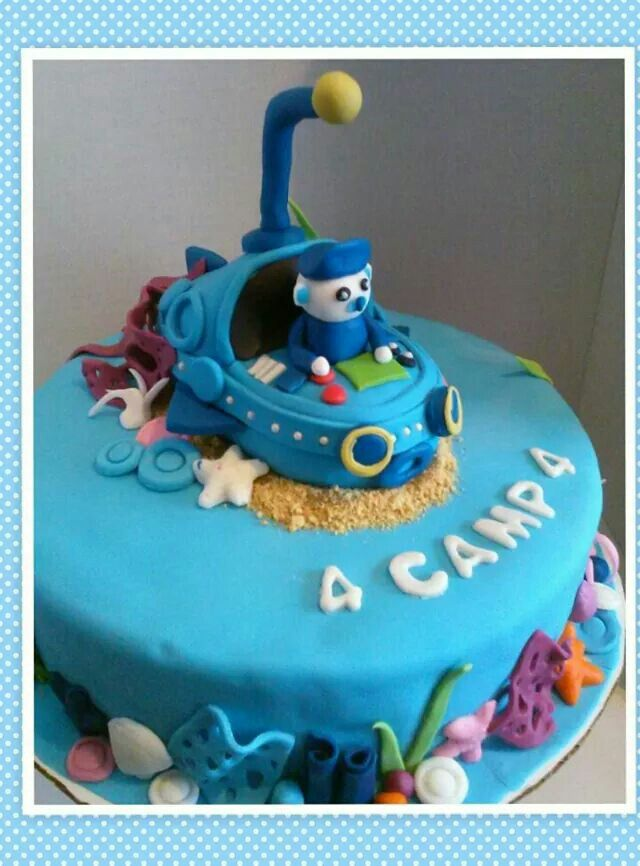 Octanauts Birthday Cake Octanut Cake Idea Poshcakedesigns