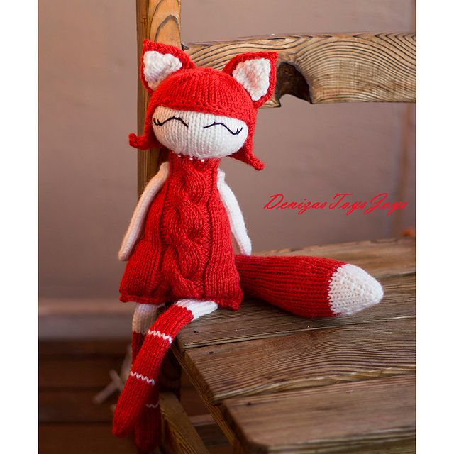 Ravelry: Foxy Naptime doll pattern by Tatyana Korobkova