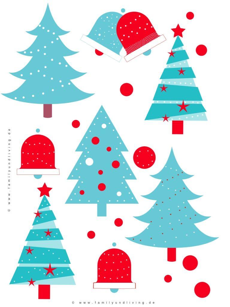 Kostenlose Bilder Von Weihnachten.Kostenlose Druckvorlage Für Weihnachten Prickeln Bastelnmitkindern