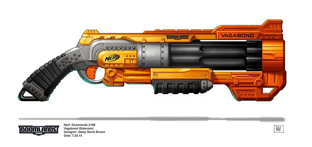 Nerf: Doomlands 2169 - Vagabond on Behance