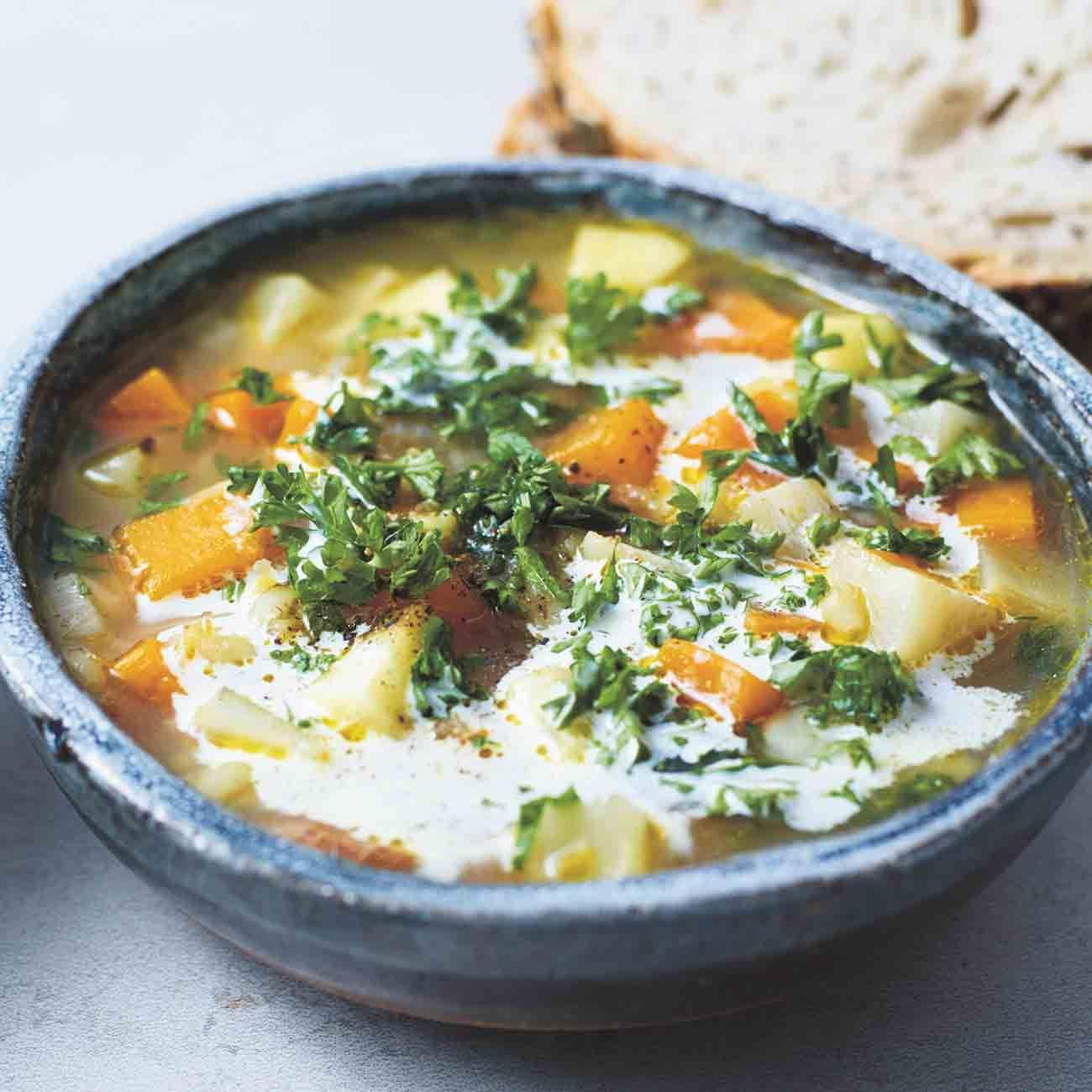 Jamie S Swiss Barley Soup Recipe In 2019 Woolworths