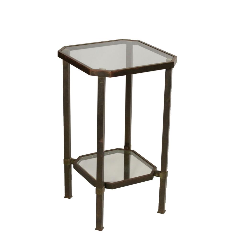 Vintage Et Deco Petite Table Metal Chrome Laiton Verre Italie Annees 70 80 Petite Table Metal Chrome Laito Table Metal Table Vintage Decoration Interieure