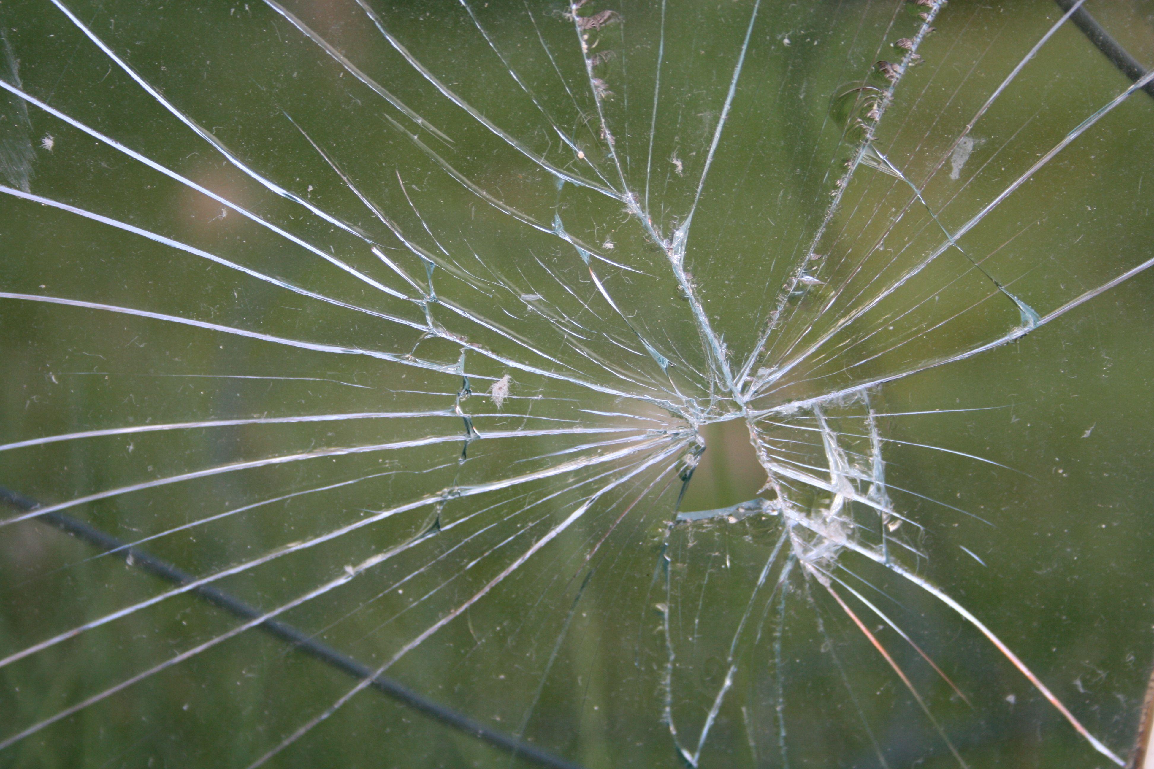фото разбитого стекла обои уже писали