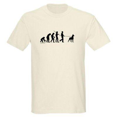 2d8f21f86 Great Dane Evolution Funny Light T-Shirt by CafePress | Great Dane ...