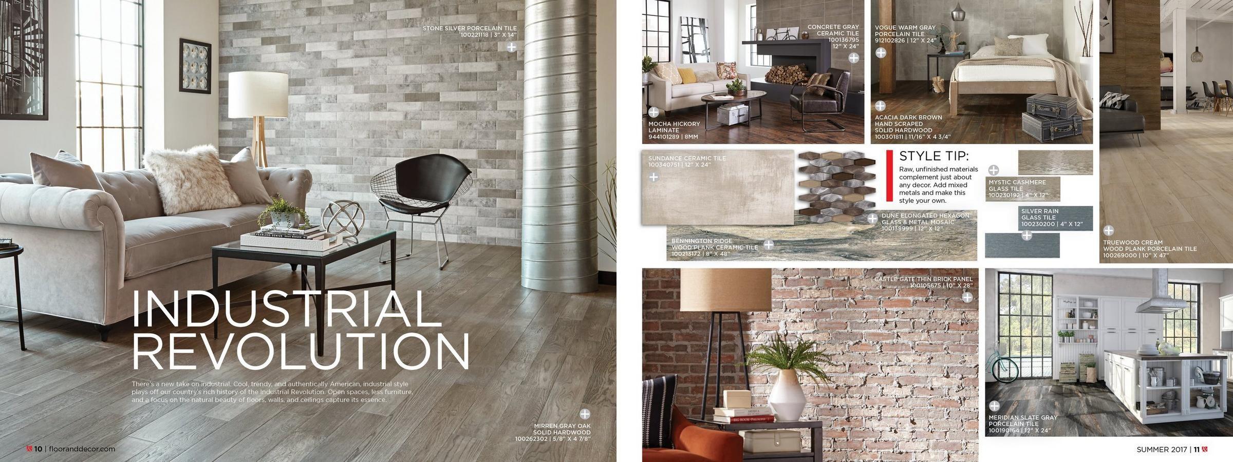 Floor And Decor Subway Tile Cool 2017 Summer Catalog  Floor & Decor  Design  Pinterest  Floor Review