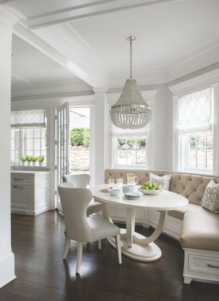 30 Cool Simple Corner Breakfast Nook Decorating Ideas Diy
