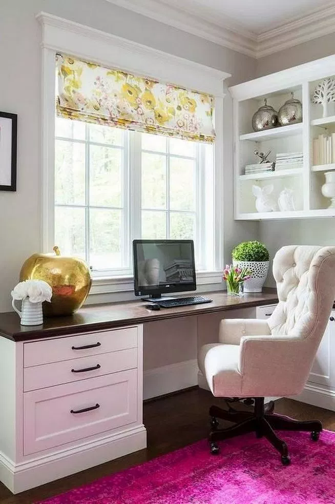 13+ Modern Home Office Ideas For Small Space | Cozy home ...