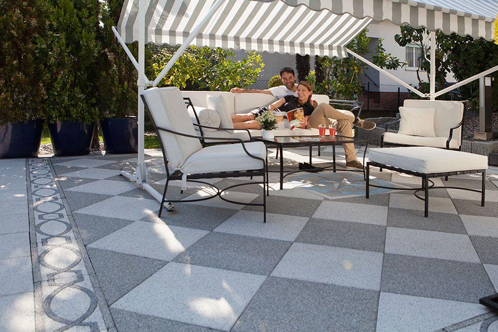Uhl Terrassenplatten Klassische Terrassenplatten Terrasse Trend
