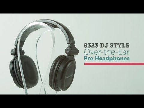 9f000cf3998 Premium Hi-Fi DJ Style Over-the-Ear Pro Headphone - Monoprice.com ...