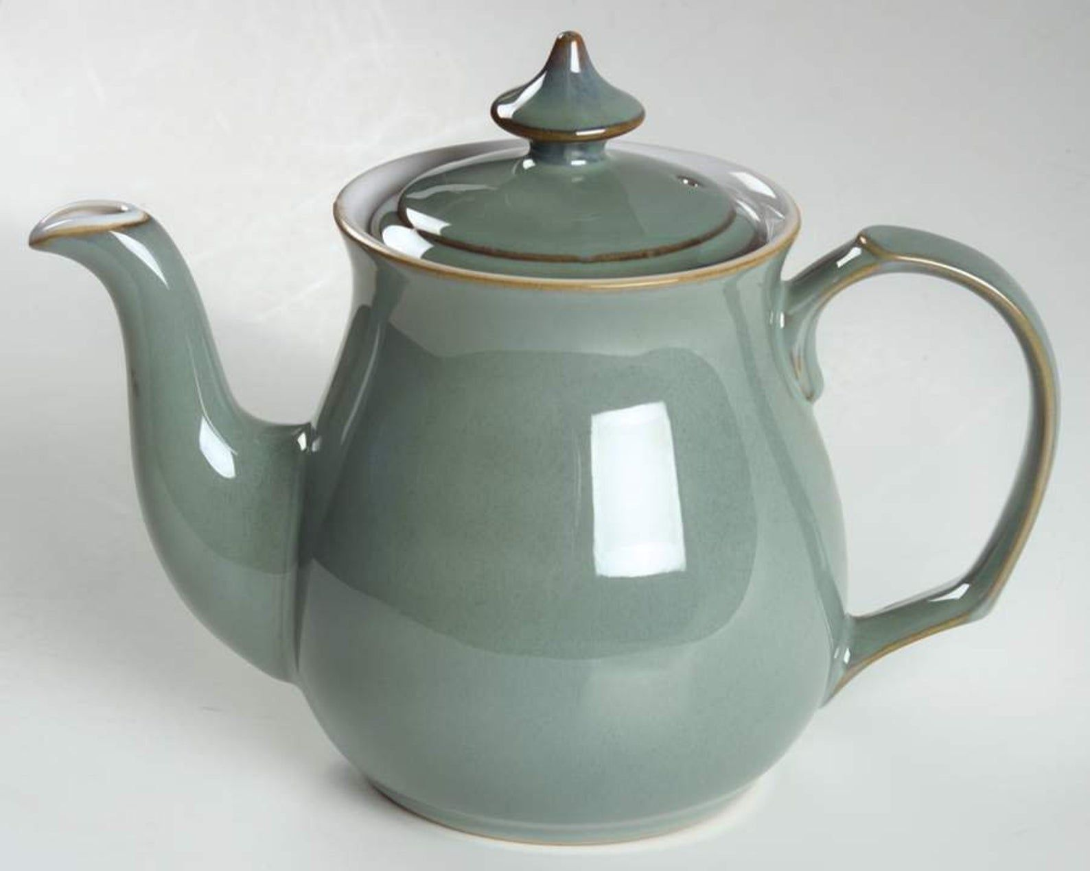 Vintage Late 1980s Denby Regency Green Stoneware Teapot Made In England Shop This English Stoneware Pattern At Buyfromgroov In 2020 Tea Pots Denby Stoneware Teapot