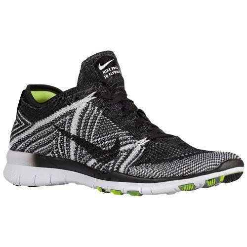 sale retailer 15447 02bae Nike Free TR 5 Flyknit - Women's - Black / White | Winter ...