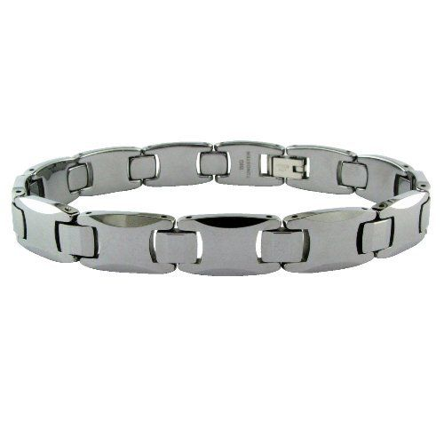 Men's Tungsten Bracelet, 8.50'' Amazon Curated Collection. $49.00. Made in China. Save 73%!