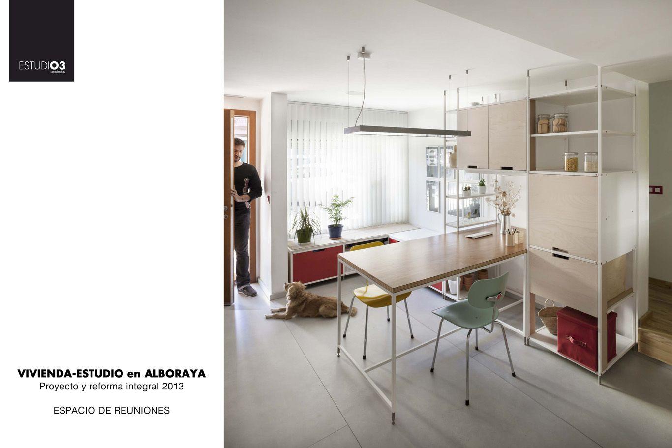 Diseño Interior - espacio de reuniones_Eo3 Arquitectos
