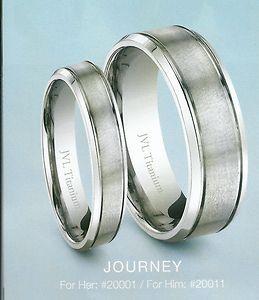 beautiful titanium wedding bands from jvl jewelry my
