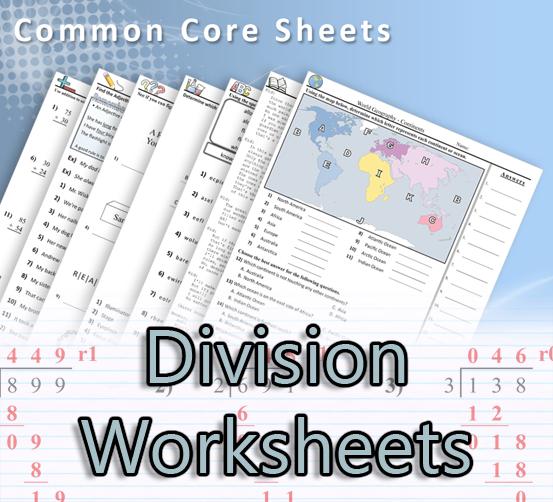 CommonCoreSheets.com - Division | Math, | Pinterest