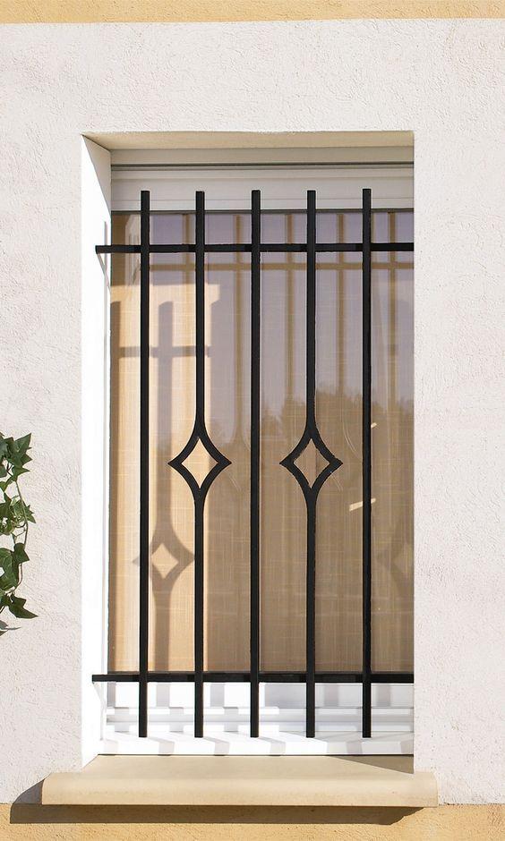 40 disenos rejas puertas ventanas 4 window iron and - Rejas para puertas ...