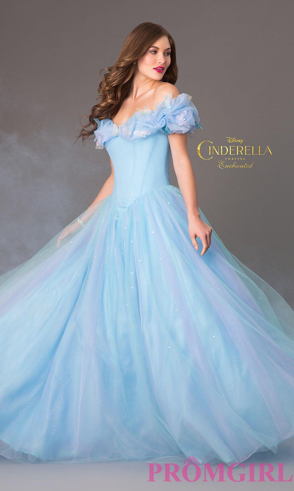 Cinderella dress ❤️  Cinderella prom dress, Blue wedding