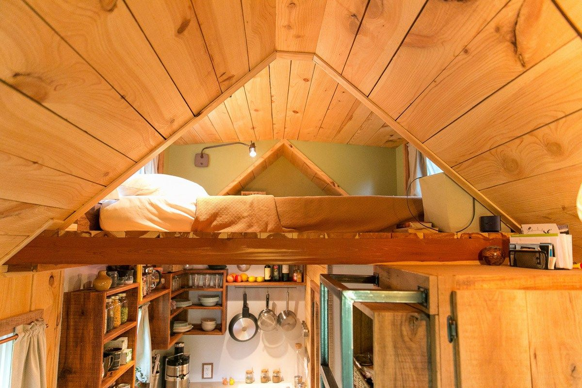 The Wind River Bungalow is a nice tiny house designed and