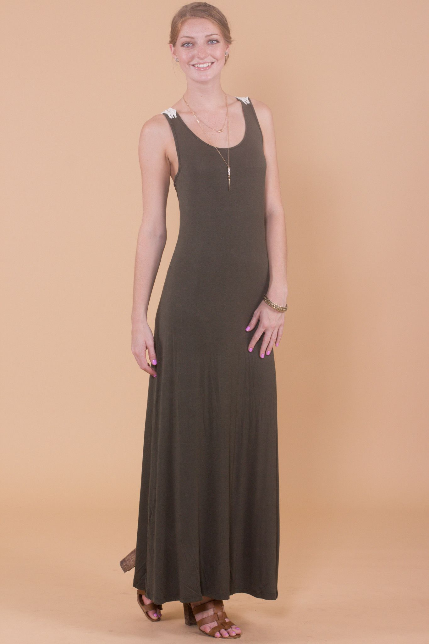 Go with the flow maxi dress products pinterest products