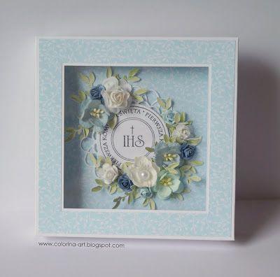 Pierwsza Komunia Swieta Design Crafts Cute Cards Baptism Gifts