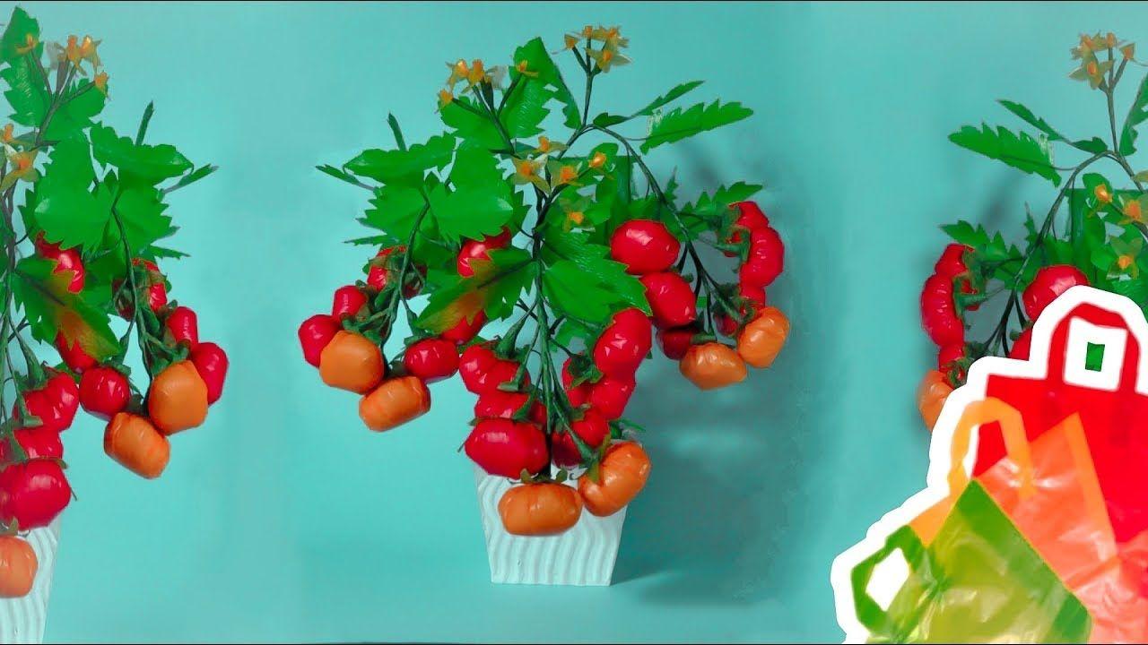 cara membuat tomat berbunga dari plastik kresek  540177fefa