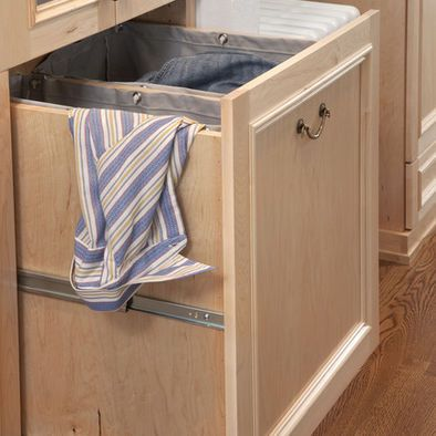 Waschesack Schrankmodul Anstelle Von Durchwurf Waschesack