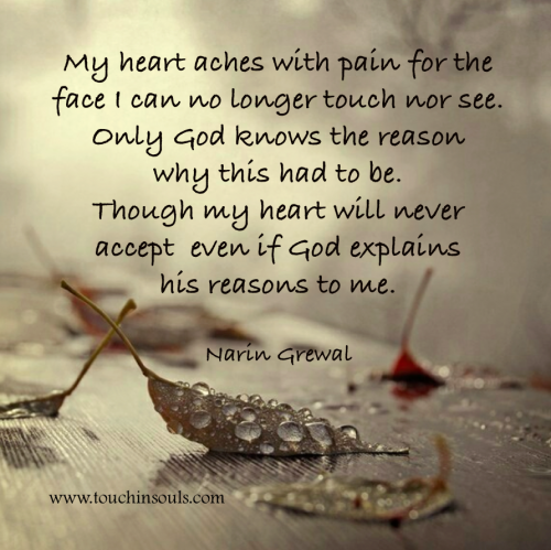 My Heart Aches With Pain Grief Support Photoart Pinterest