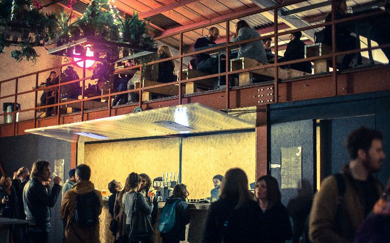 East, Hackney wick - Micks Garage by crate